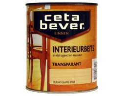Cetabever interieurbeits blank glans 0,75L