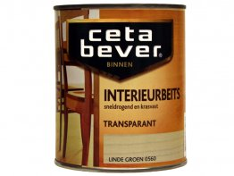 Cetabever interieurbeits linde groen 0,25L