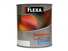 Flexa Colors Hoogglans WB 0,5L. Wit