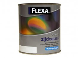 Flexa Colors Zijdeglans WB 0,5L. Wit