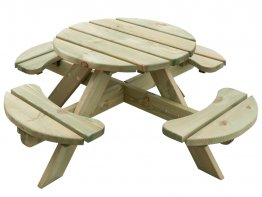 Kinder Picknicktafel Rond