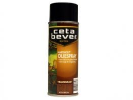 Cetabever Hardhout oliespray 400ml. roodbruin